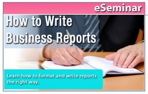 how to write business reports How do i write a business report business reports are a standard part of any business professional's kit so, how do you write a comprehensive business report.