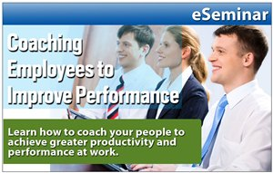 Coaching Employees to Improve Performance