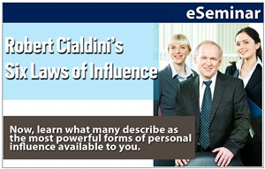 Robert Cialdini's Six Laws of Influence