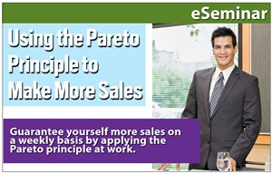 Using The Pareto Principle To Make More Sales