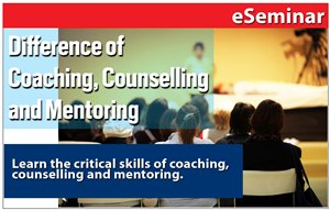 Understanding the Difference Between Coaching Counselling and Mentoring