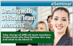 How to Deal with Difficult or Challenging Team Members