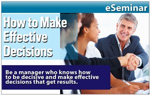 How to Make Effective Decisions